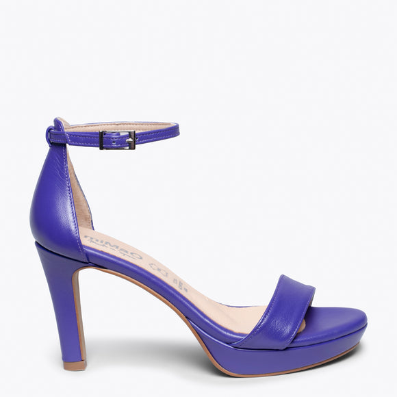 FIESTA - PURPLE HIGH HEEL SANDAL
