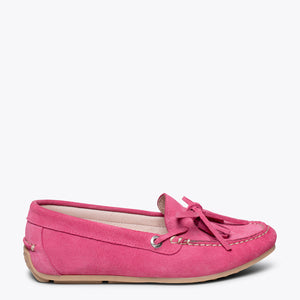 LACED LOAFER - PINK loafer