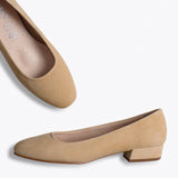 URBAN XS - NUDE LOW HEEL