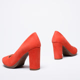 URBAN - LIGHT RED high heel