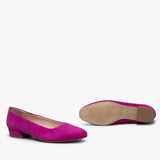 URBAN XS - HOT PINK LOW HEEL