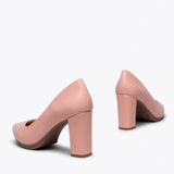 URBAN SALON - PEACH HIGH HEEL