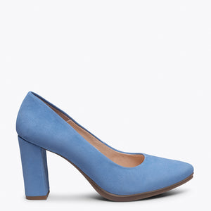 URBAN - SKY BLUE high heel