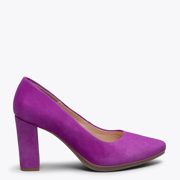 URBAN - PURPLE high heel
