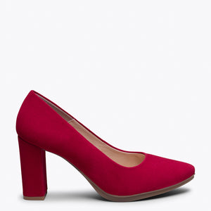 URBAN - RED high heel