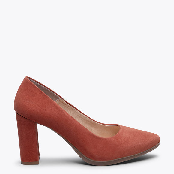 URBAN - BRICK high heel