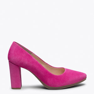 URBAN - HOT PINK high heel