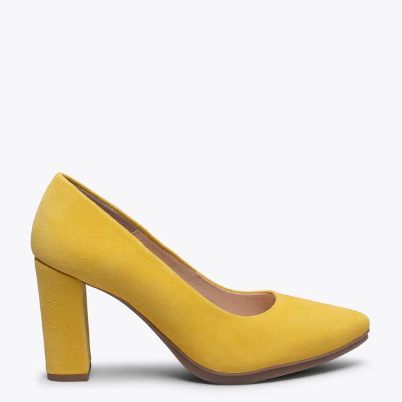 URBAN - YELLOW high heel