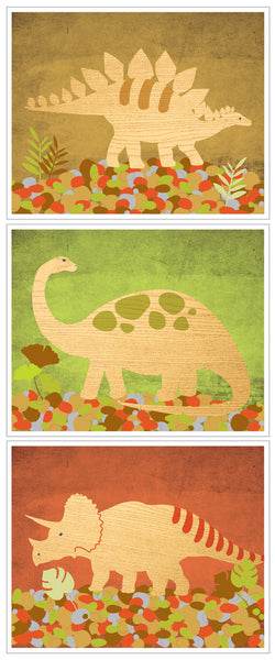 Print Pack Dinosaur Color