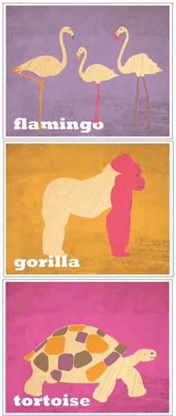 Print Pack Zoo Friends Purple 2