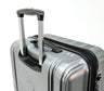 "Delsey ChromeTec 21.5"" Carry-On Spinner Luggage"
