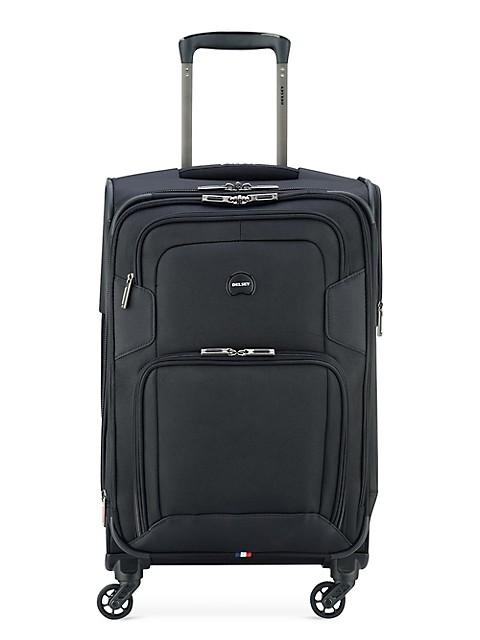 Delsey Optima Carry-On Spinner Luggage - Black
