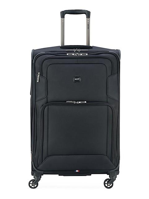 Delsey Optima 3 Piece Spinner Luggage Set (Carry-On, Medium & Large) - Black