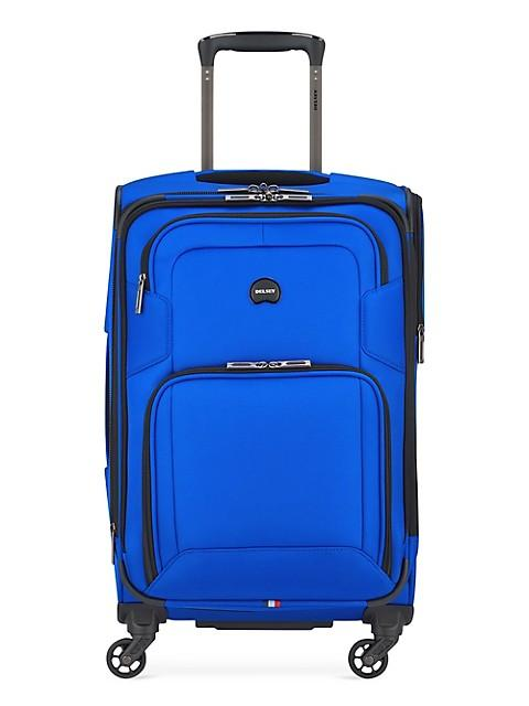 Delsey Optima Carry-On Spinner Luggage - Blue