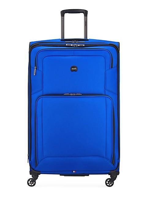 Delsey Optima Large Spinner Luggage - Blue