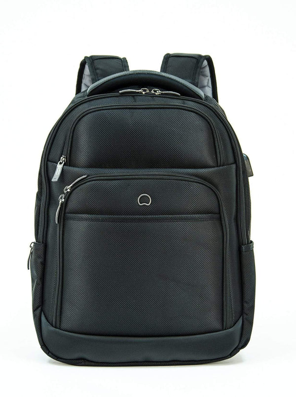 Delsey Executive Laptop Backpack - Black