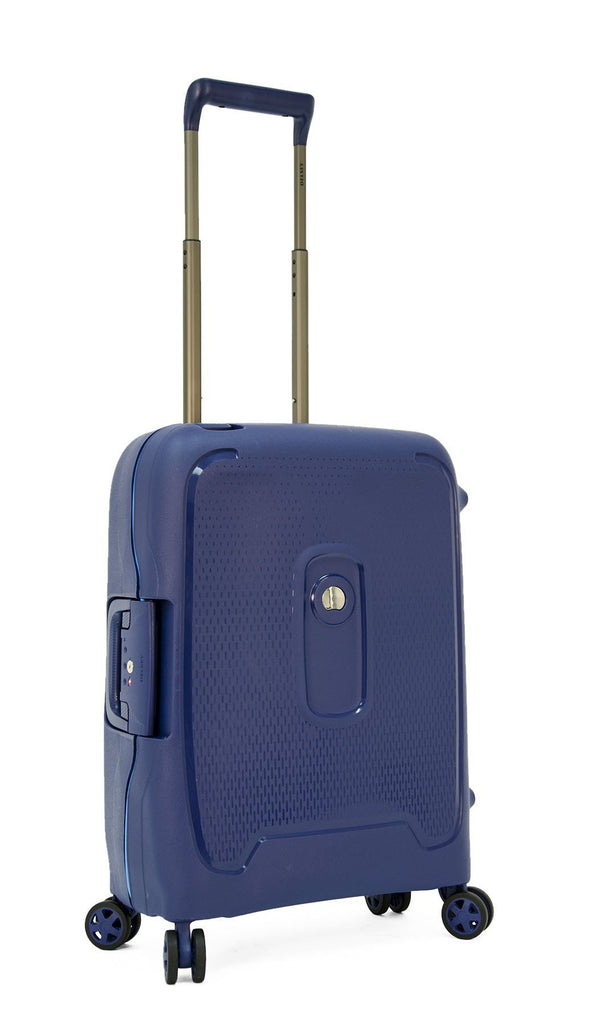 Delsey Moncey 21.5 Inch Carry On Spinner Luggage - Blue