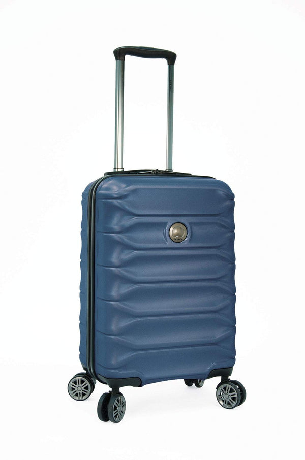 "Delsey Meteor 24"" Expandable Spinner Luggage - Blue"