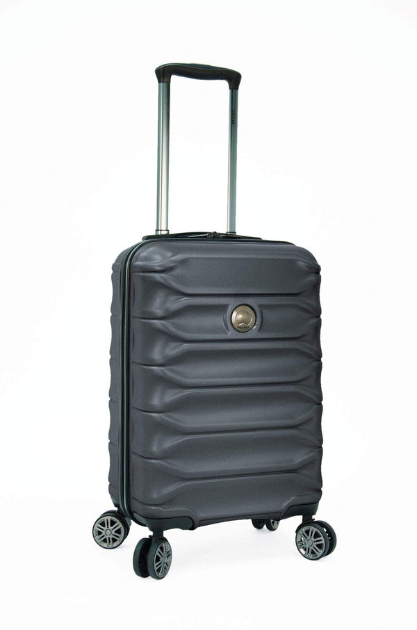 "Delsey Meteor 24"" Expandable Spinner Luggage - Charcoal"