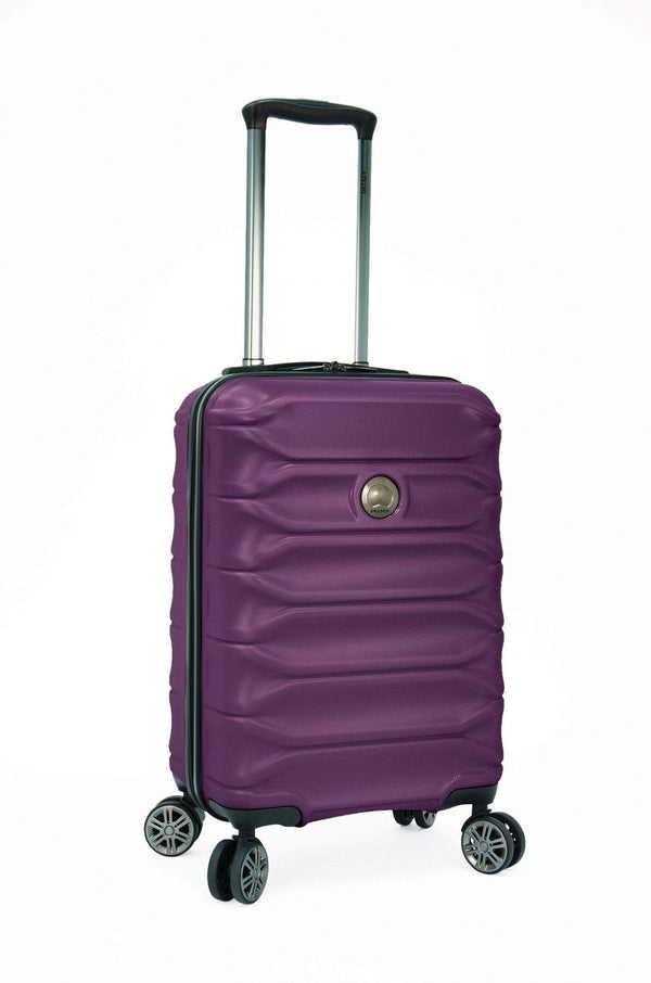 "Delsey Meteor 24"" Expandable Spinner Luggage - Purple"