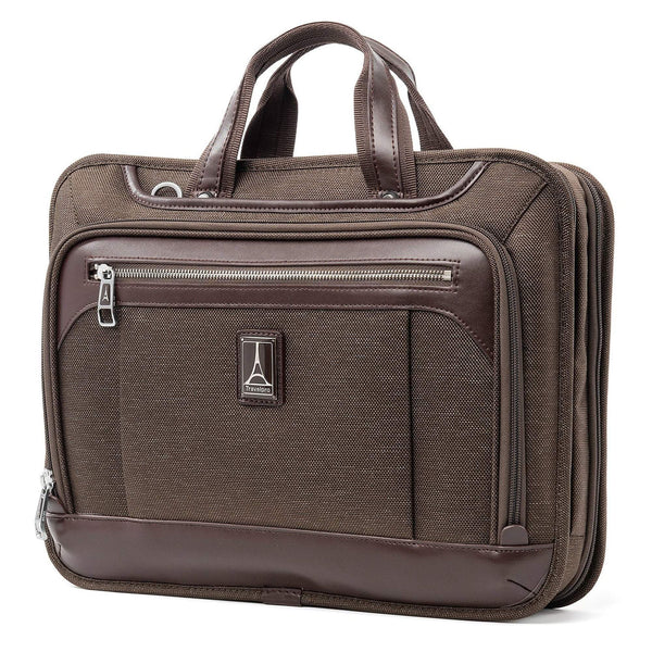 Travelpro Platinum Elite Porte-documents mince - Espresso
