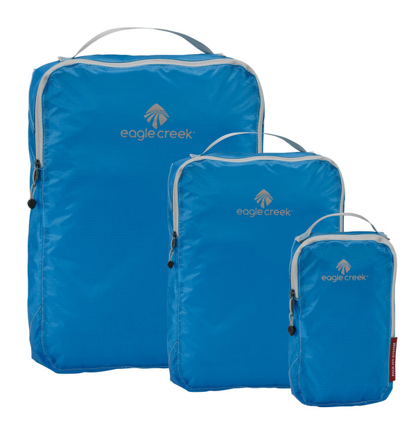 Eagle Creek Pack-It Specter Ensemble de cubes de rangement TP/P/M - Brilliant Blue