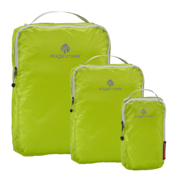 Eagle Creek Pack-It Specter Ensemble de cubes de rangement TP/P/M - Strobe Green