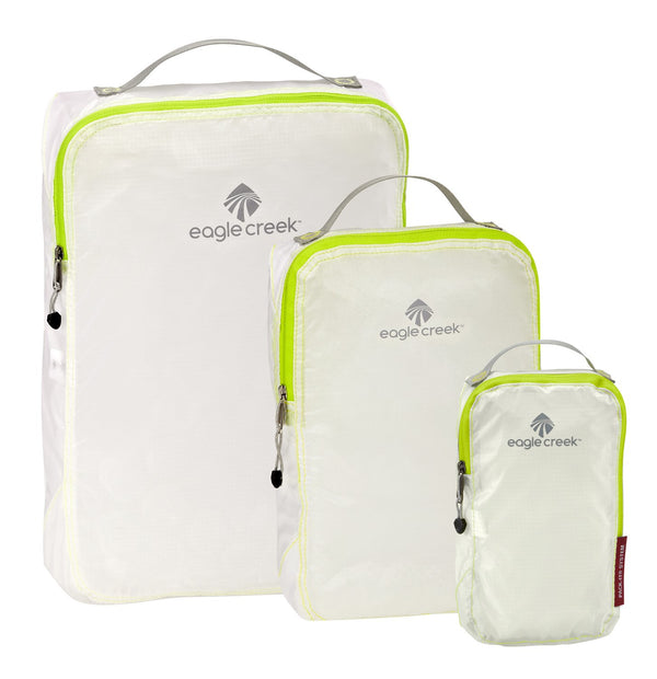 Eagle Creek Pack-It Specter Ensemble de cubes de rangement TP/P/M - White/Strobe
