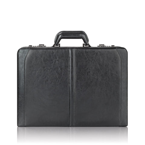 "Solo Classic 16"" Leather Attaché"