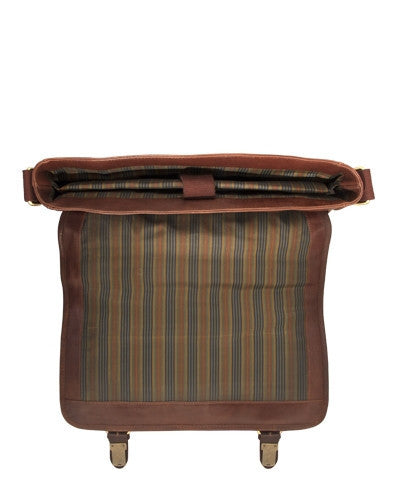 Mancini CALABRIA Collection Sac messager pour portable et tablette