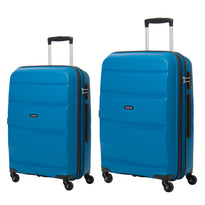American Tourister Bon Air Collection Ensemble de deux valises extensibles spinner (moyenne et grande)