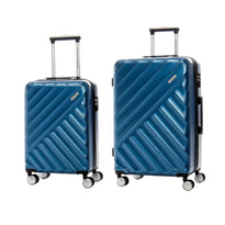 American Tourister Crave Collection Ensemble de 2 valises extensibles spinner (bagage de cabine et valise moyenne)