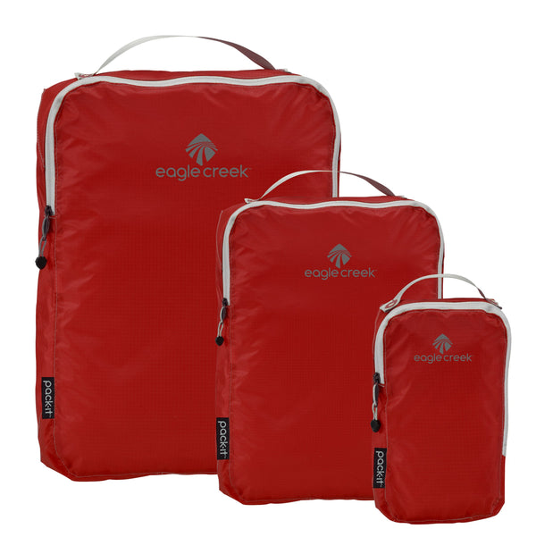 Eagle Creek Pack-It Specter Ensemble de cubes de rangement TP/P/M - Volcano Red