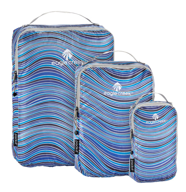 Eagle Creek Pack-It Specter Ensemble de cubes de rangement TP/P/M - Sandstone Blue