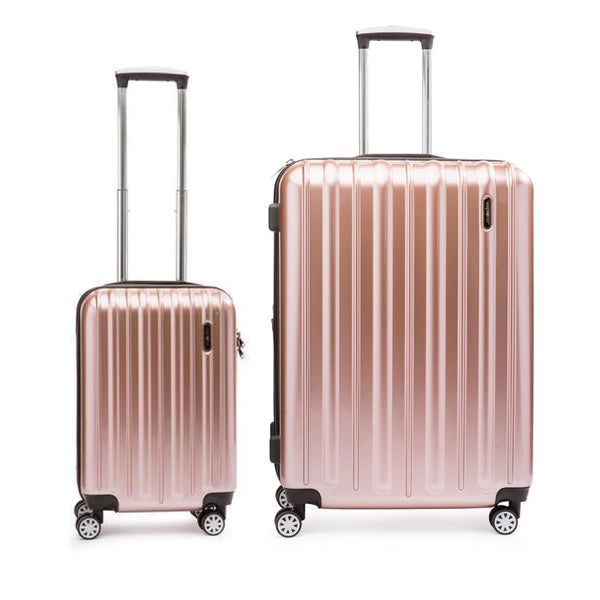 Explorer Classic Collection Ensemble de 2 valises extensibles spinner - Bagage de cabine et grande valise