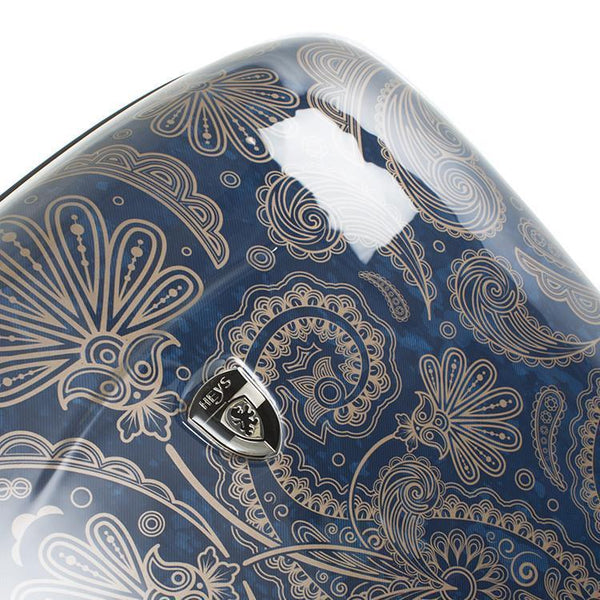 Heys Indigo Paisley Ensemble de 3 valises Fashion Spinner
