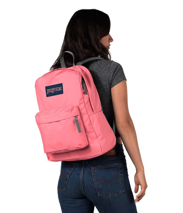 JanSport SuperBreak Sac à dos - Strawberry Pink