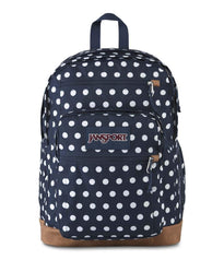 JanSport Cool Student Sac à dos - Dark Denim Polka Dot