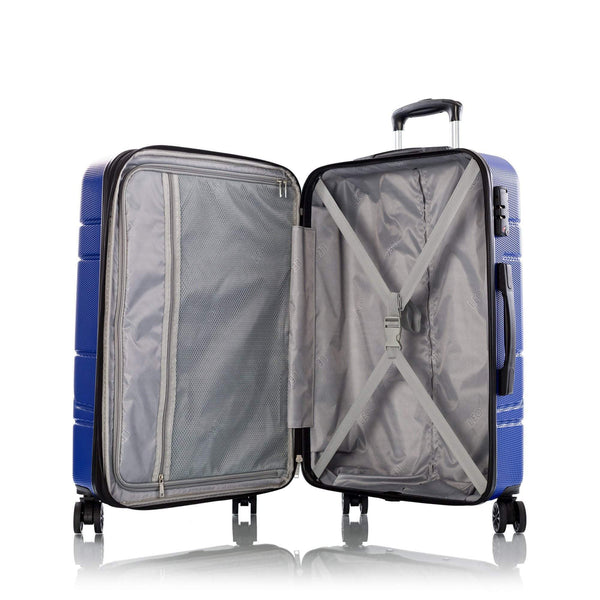 Leo By Heys Level Ensemble de 3 valises extensibles spinner