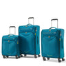 American Tourister Fly Light Ensemble de 3 valises extensibles spinner - Sarcelle