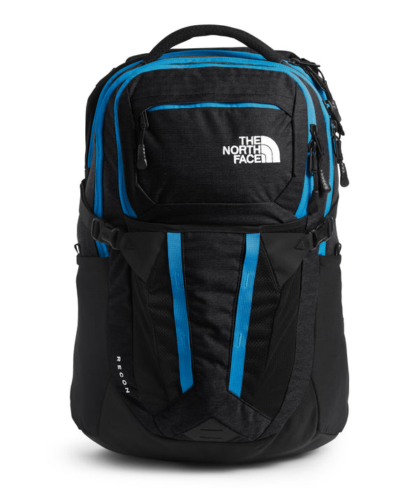 The North Face Recon Sac à dos - TNF Black Light Directional Heather/Clear Lake Blue