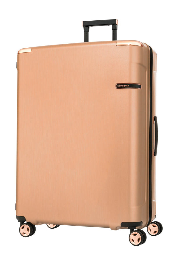 Samsonite Evoa Grande valise extensible spinner - Rose Gold