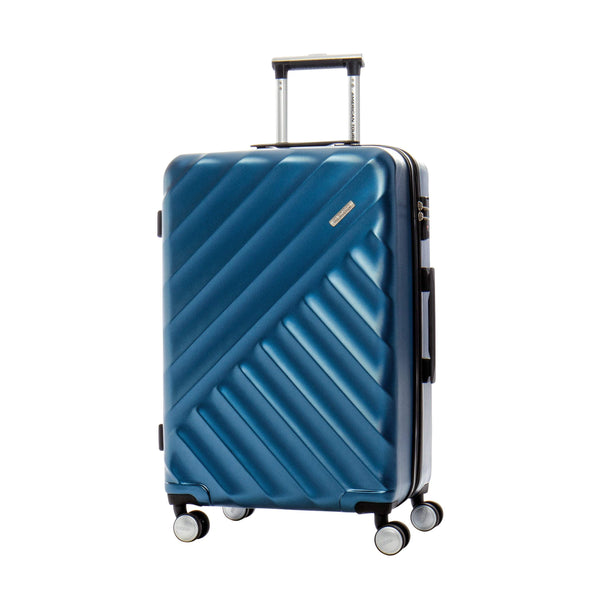 American Tourister Crave Collection Valise moyenne extensible spinner - Bleu
