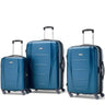 Samsonite Winfield NXT Ensemble de 3 valises extensibles spinner - Bleu