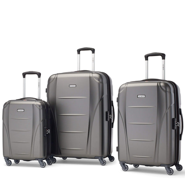 Samsonite Winfield NXT Ensemble de 3 valises extensibles spinner - Charbon