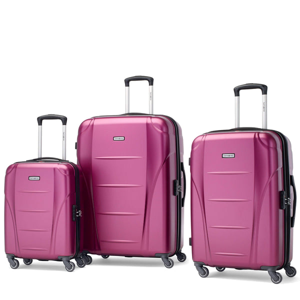 Samsonite Winfield NXT Ensemble de 3 valises extensibles spinner - Rose solaire