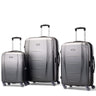 Samsonite Winfield NXT Ensemble de 3 valises extensibles spinner - Argent/Charbon