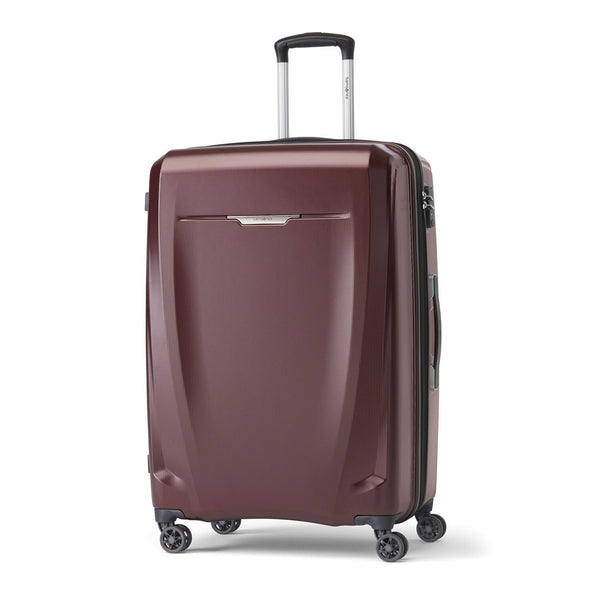 Samsonite Pursuit DLX Plus Grande valise extensible spinner - Bourgogne