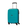 American Tourister Bon Air Collection Bagage de cabine extensible spinner - Turquoise
