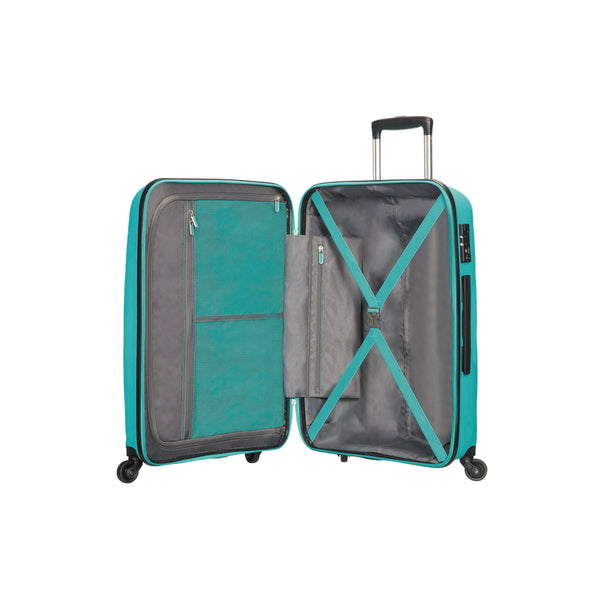American Tourister Bon Air Collection Ensemble de deux valises extensibles spinner (bagage de cabine et valise moyenne)